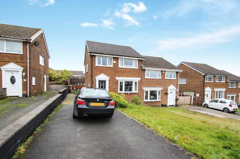 3 Bedrooms Semi Detached House for sale in Foxdale Close, Bacup, Rossendale