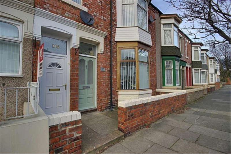 2 Bedrooms Ground Flat for rent in Wharton Street, South Shields