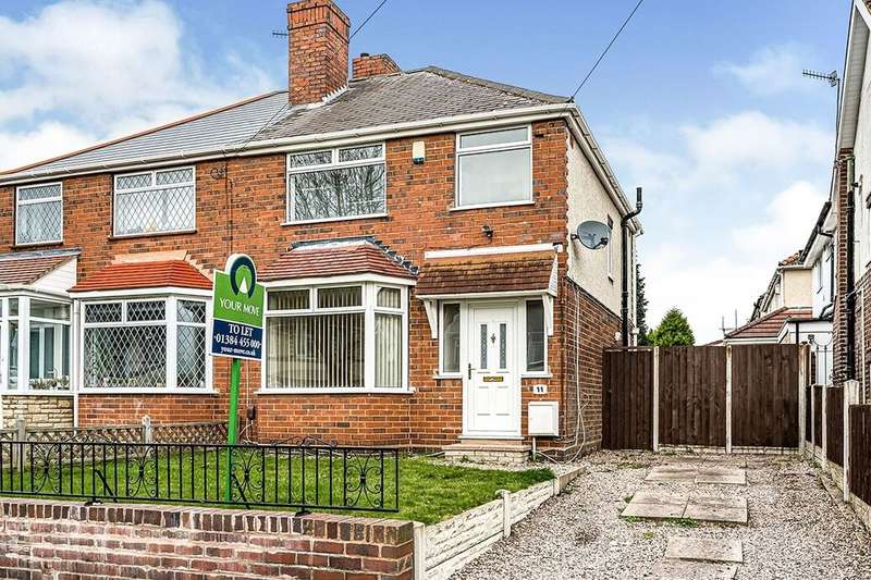 3 Bedrooms Semi Detached House for rent in Dalvine Road, Dudley, DY2