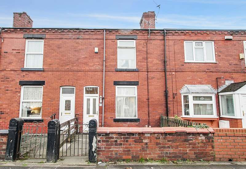2 Bedrooms Terraced House for sale in Low Bank Road, Ashton-in-Makerfield, Wigan, WN4