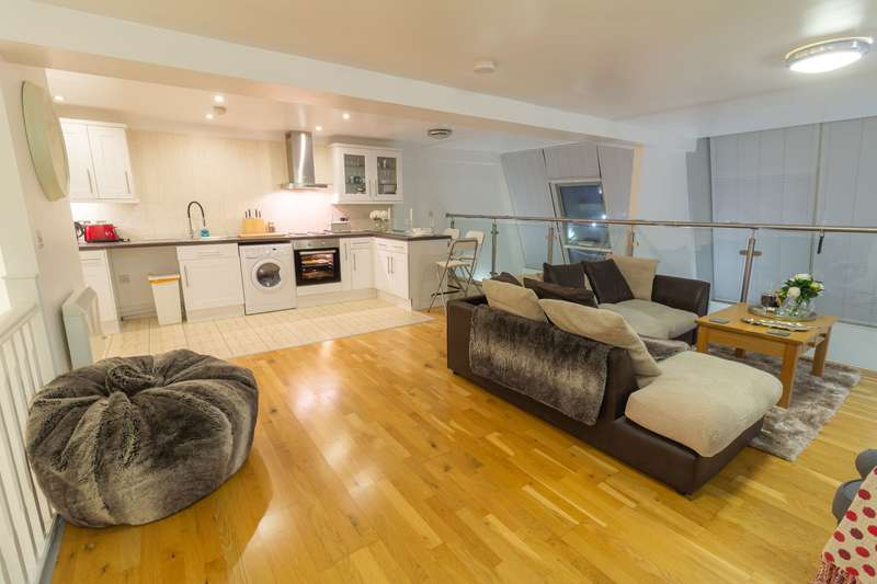 2 Bedrooms Flat for sale in Flat , Old Arts College, Clarence Place, Newport