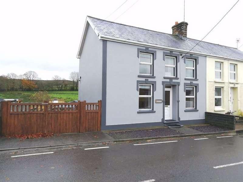 2 Bedrooms Semi Detached House for sale in Llanfihangel Ar Arth, Pencader