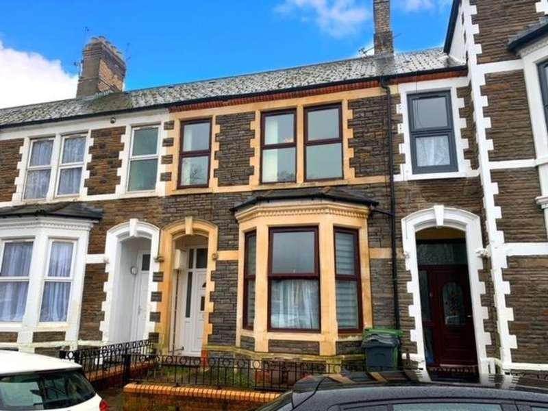 2 Bedrooms Flat for rent in Clare Gardens, Grangetown, Cardiff