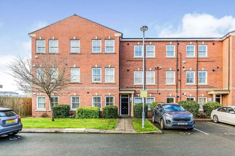 2 Bedrooms Flat for rent in Hatters Court, Stockport, SK1