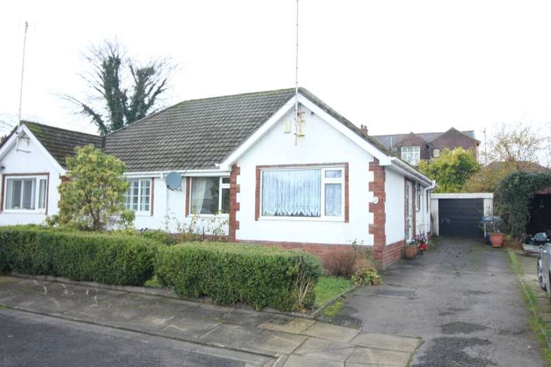 2 Bedrooms Semi Detached Bungalow for sale in Bamford Close, Bury, BL9