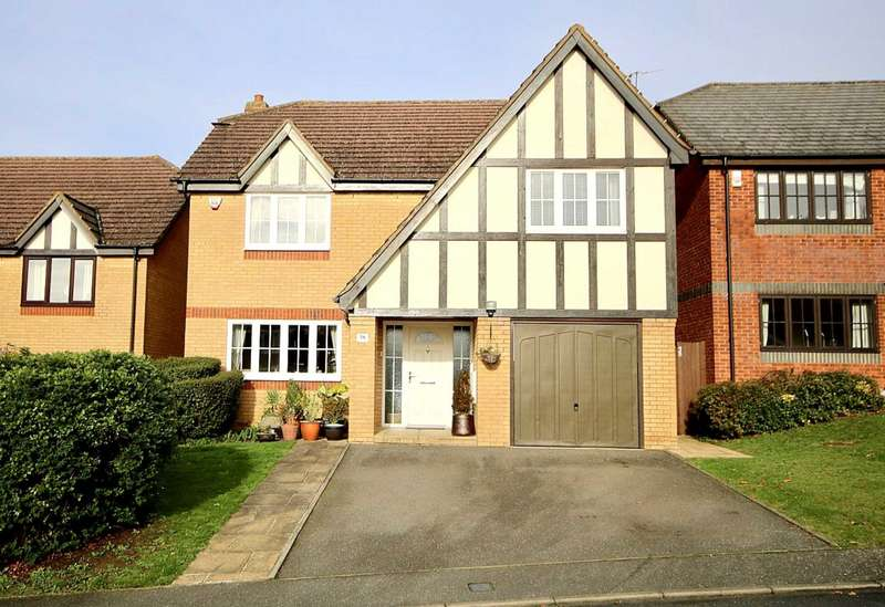 4 Bedrooms Detached House for sale in Walnut Grove, Hemel Hempstead