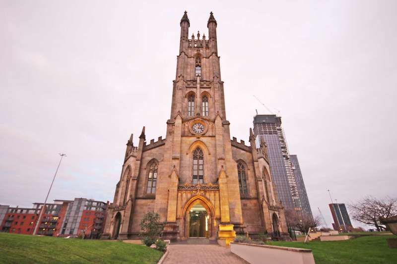 2 Bedrooms Apartment Flat for sale in Former St Georges Church, Arundel Street