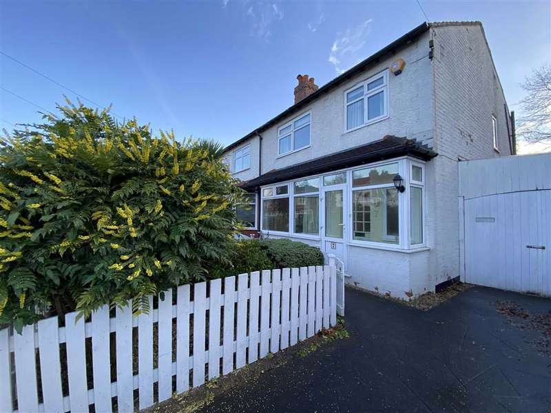 3 Bedrooms Semi Detached House for rent in Dalmorton Road, Chorlton, Chorlton