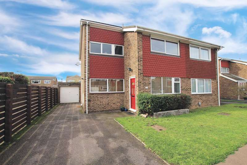 3 Bedrooms Semi Detached House for sale in Redman Gardens, Biggleswade, SG18