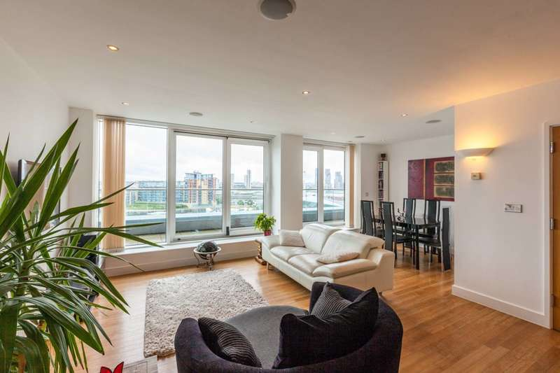 2 Bedrooms Flat for sale in Adriatic Apartments, Royal Docks, E16