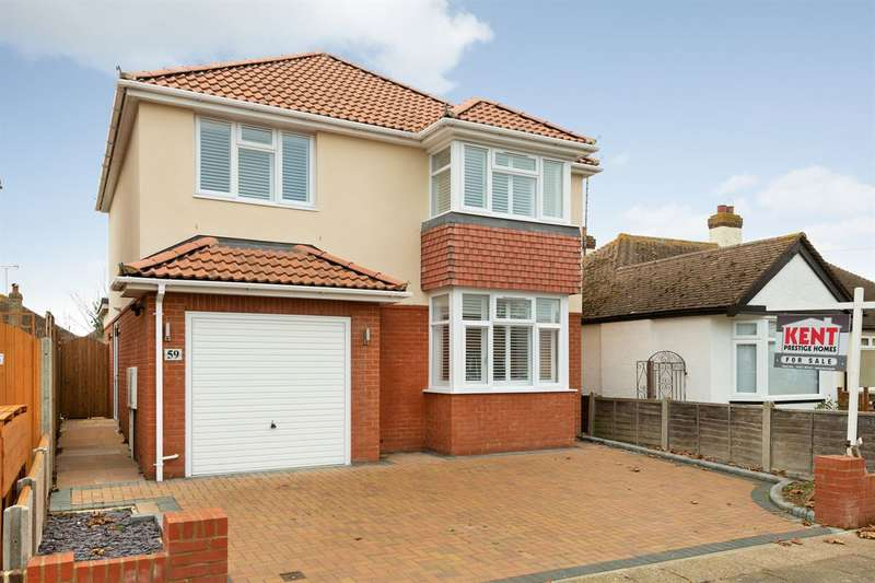 4 Bedrooms Detached House for sale in Albany Drive, Herne Bay