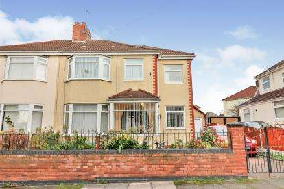 4 Bedrooms Semi Detached House for sale in Thirlmere Avenue, Litherland, Liverpool, Merseyside, L21