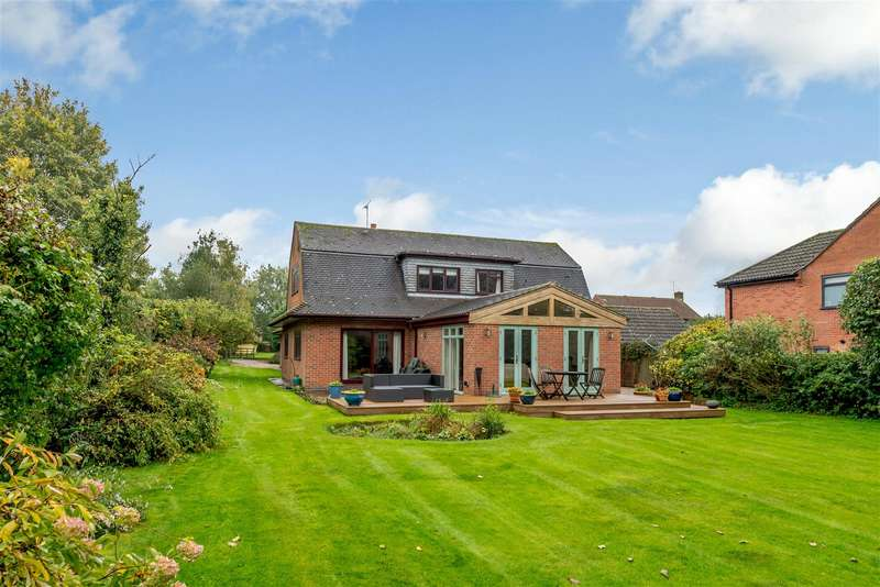 4 Bedrooms Detached House for sale in Lynmouth Drive, Gilmorton, Lutterworth