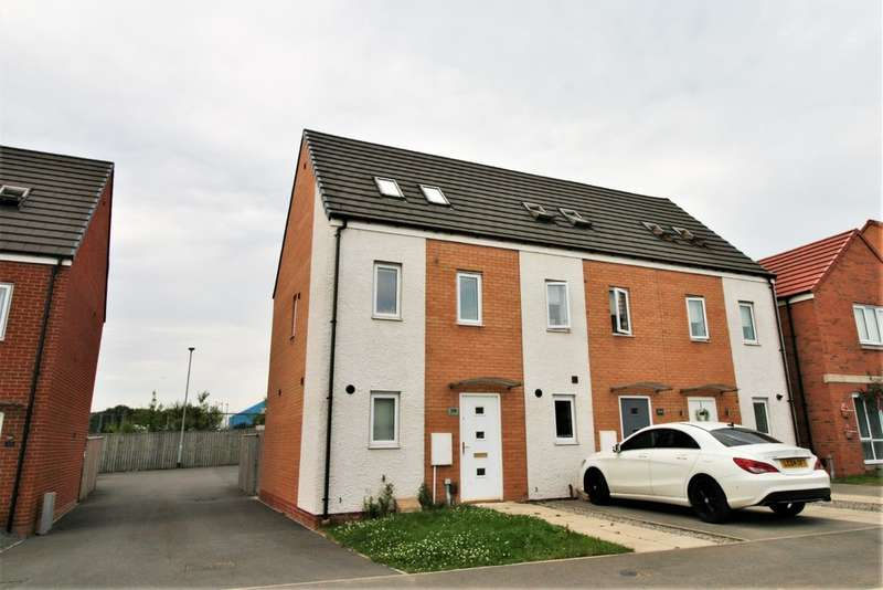 3 Bedrooms End Of Terrace House for rent in Greatham Avenue, Stockton-on-Tees