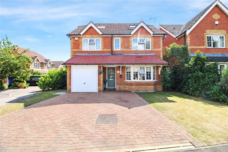 4 Bedrooms Detached House for sale in Grenadier Close, Rainham, Kent, ME8