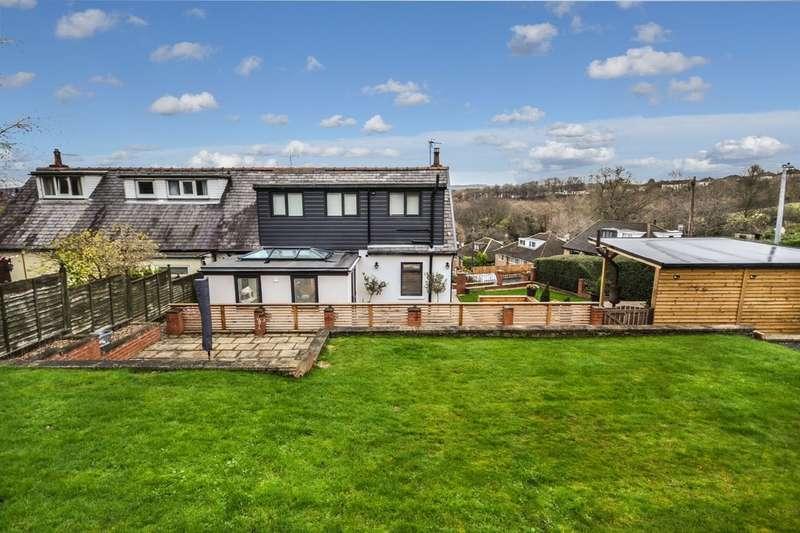 3 Bedrooms Semi Detached House for sale in Bank End Lane, Almondbury, Huddersfield