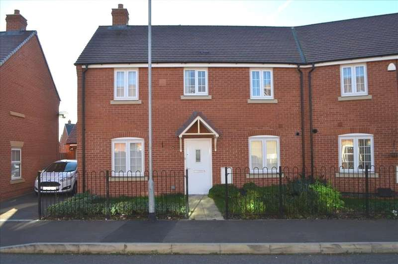 3 Bedrooms Semi Detached House for sale in Appleton Mead, Biggleswade, SG18