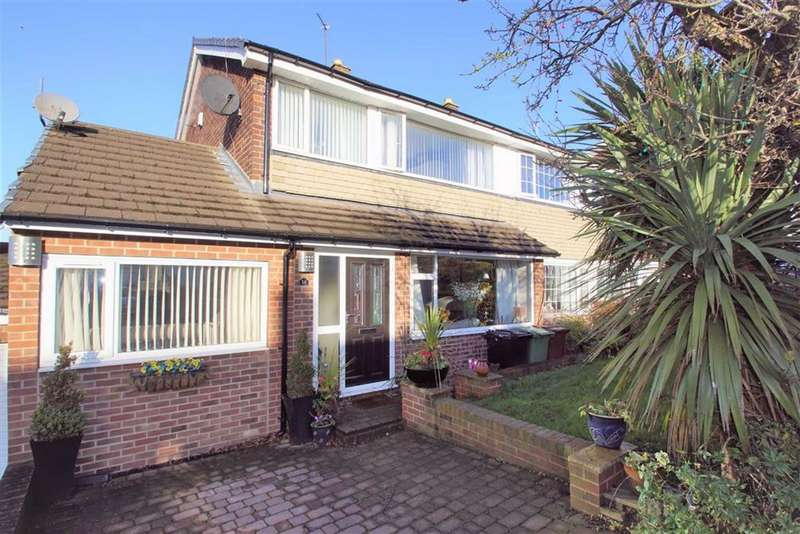 4 Bedrooms Semi Detached House for sale in Temple Close, Leeds