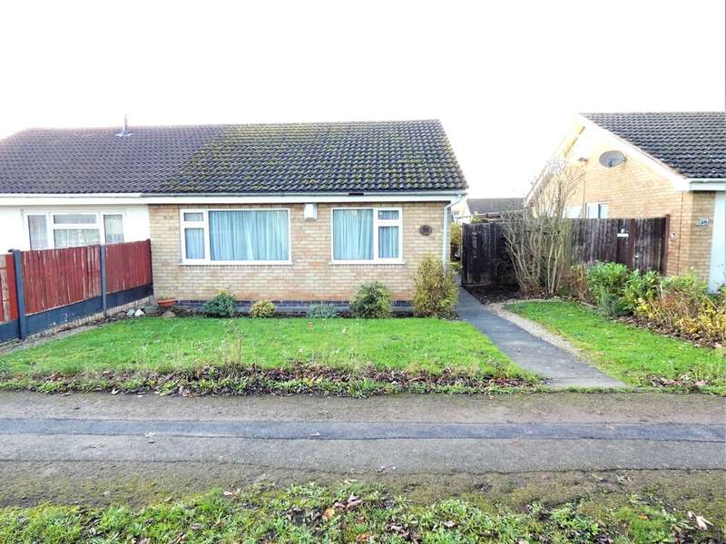 2 Bedrooms Semi Detached Bungalow for sale in Kincaple Road, Rushey Mead, Leicester