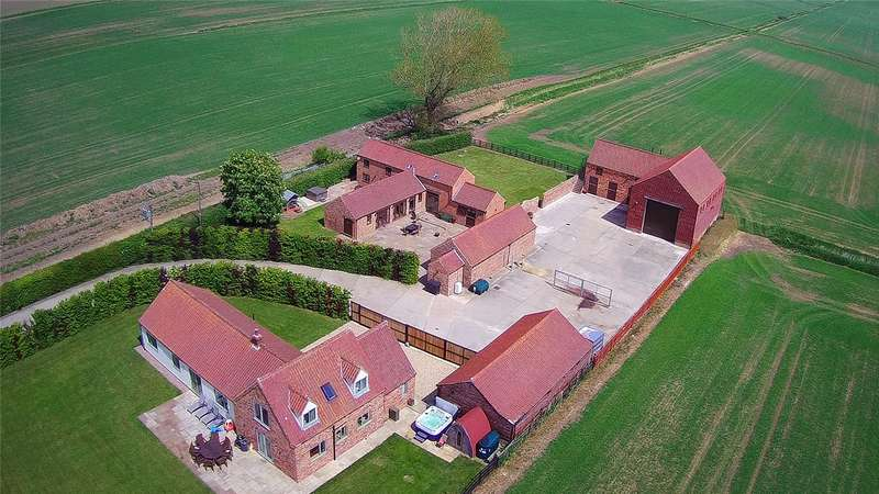 4 Bedrooms Detached House for sale in North Kyme Fen, North Kyme, Lincoln, Lincolnshire, LN4