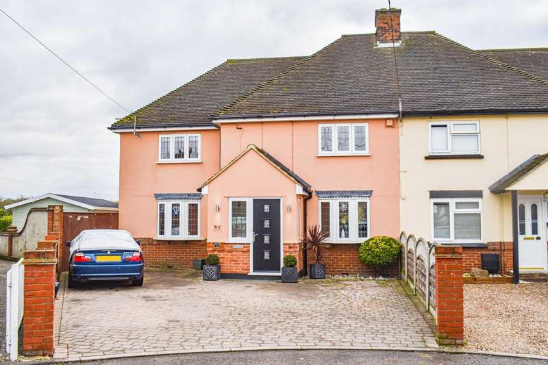 4 Bedrooms Semi Detached House for sale in Oxney Villas, Felsted, Dunmow