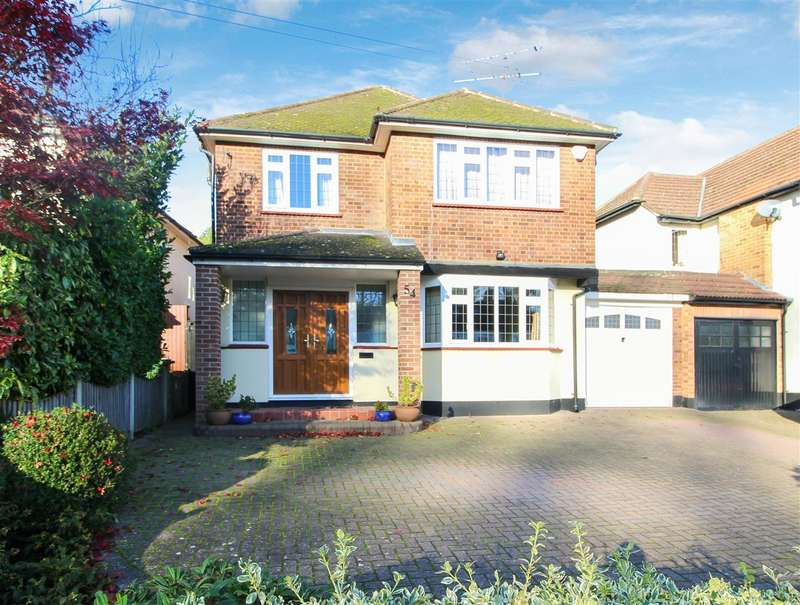 3 Bedrooms Detached House for sale in Friars Avenue, Shenfield