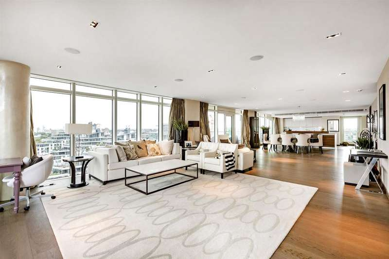 3 Bedrooms Penthouse Flat for sale in Ascensis Tower, Battersea Reach, Battersea, SW18