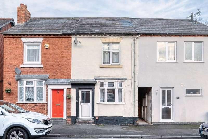 2 Bedrooms Terraced House for rent in Birchfield Road, Headless Cross, Redditch