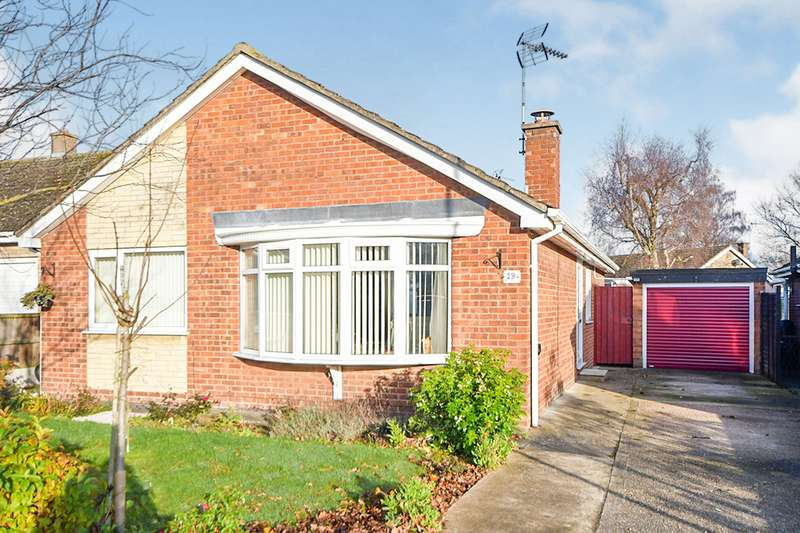 3 Bedrooms Detached Bungalow for sale in Benson Crescent, Lincoln, Lincolnshire, LN6