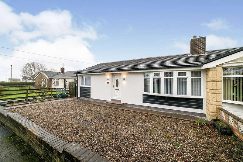 2 Bedrooms Semi Detached Bungalow for sale in Cresswell Close, Blaydon-on-Tyne, NE21
