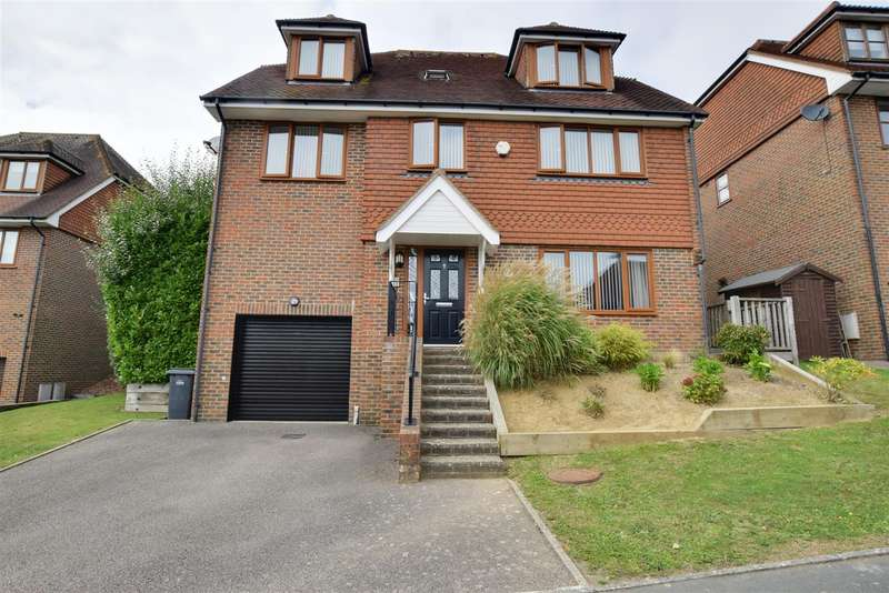 5 Bedrooms Detached House for sale in Beachy Head View, St. Leonards-On-Sea
