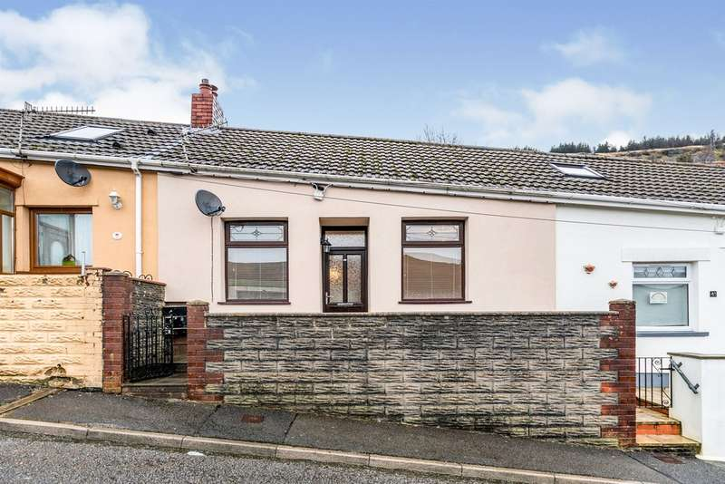 2 Bedrooms Terraced House for sale in Mountain Row, Blaenllechau, Ferndale