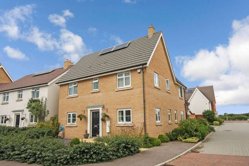 4 Bedrooms Detached House for sale in Saxon Gate, Broomfield, Chelmsford