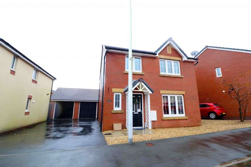 4 Bedrooms Detached House for rent in Min Yr Aber, Gorseinon, Swansea, SA4