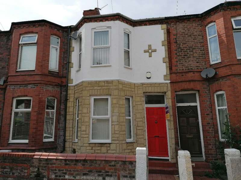 3 Bedrooms Terraced House for rent in Sycamore Road, Birkenhead
