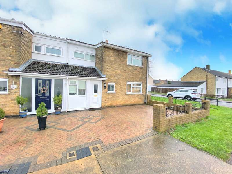 3 Bedrooms End Of Terrace House for sale in Valley Way, Stevenage, Hertfordshire, SG2