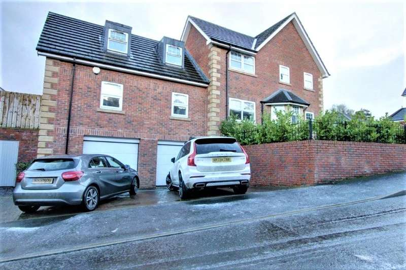 5 Bedrooms Detached House for sale in Sycamore Court, High Spen, Rowlands Gill, NE39
