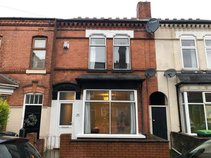 3 Bedrooms Terraced House for rent in Poplar Road, Bearwood, Birmingham, B66 4AW