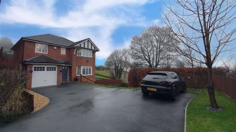 4 Bedrooms Detached House for sale in The Ridgeway, Holywell, Flintshire, CH8