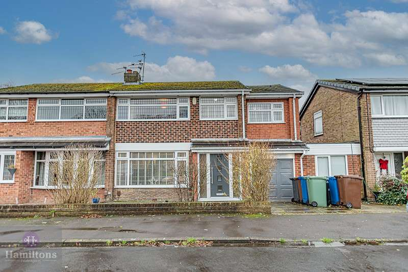 4 Bedrooms Semi Detached House for sale in Wigshaw Close, Pennington, Leigh, Greater Manchester. WN7 3JZ