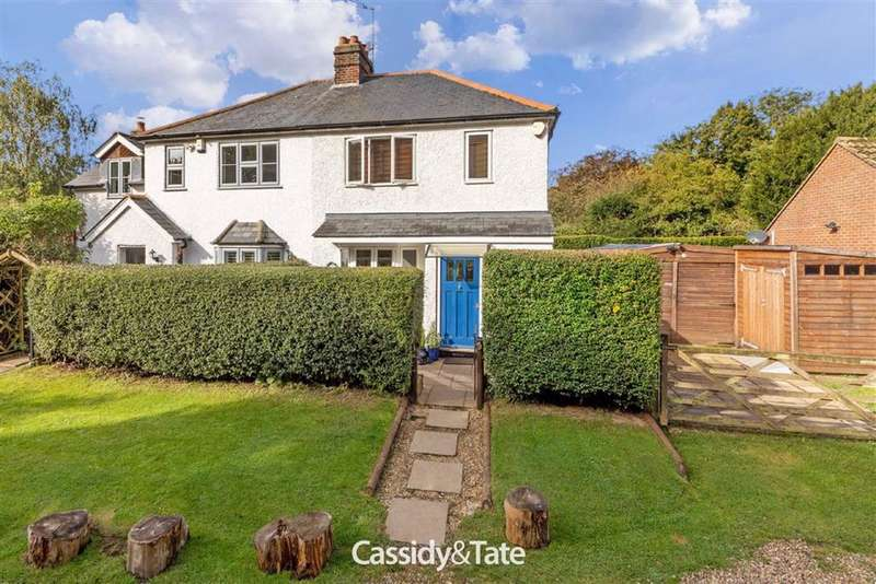 2 Bedrooms Semi Detached House for sale in Nomansland, Wheathampstead, Hertfordshire