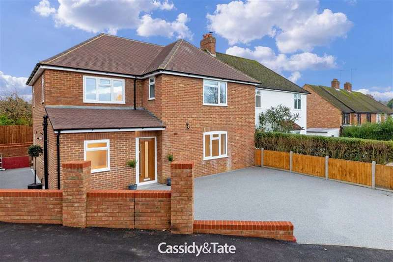 4 Bedrooms Semi Detached House for sale in Townsend Drive, St Albans, Herts