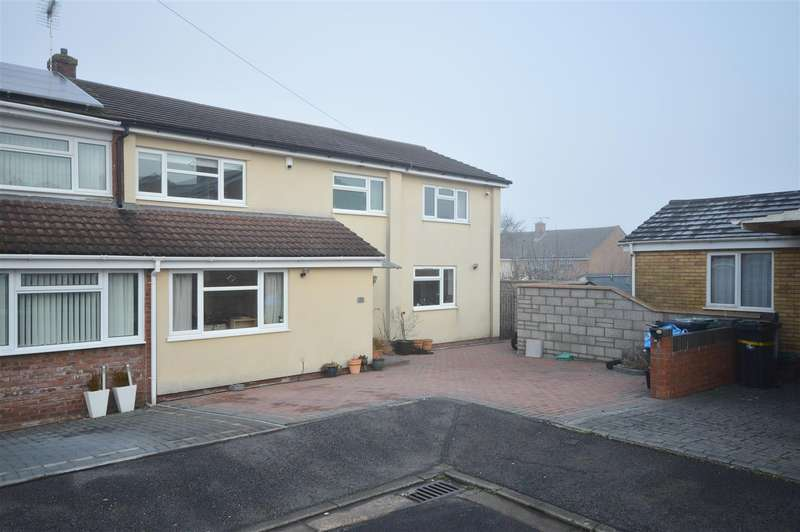 5 Bedrooms Semi Detached House for sale in Stockton Close, Whitchurch, Bristol