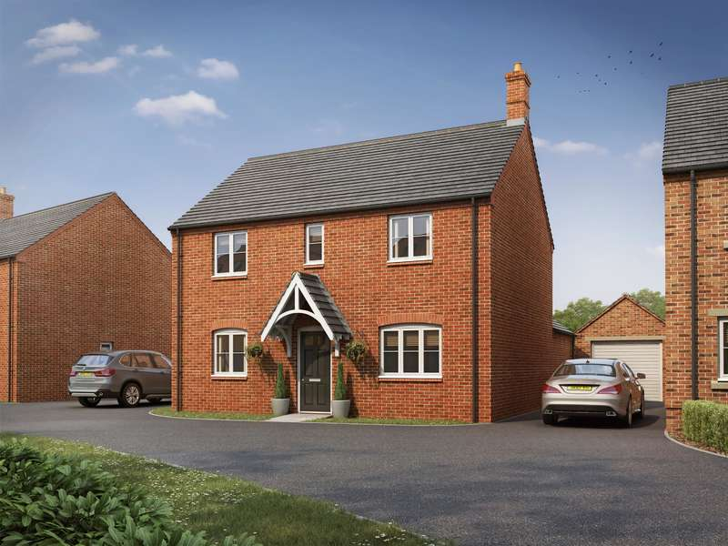 3 Bedrooms Detached House for sale in - The Lyme+, Kimcote Road, Gilmorton, Leics., LE17 5PB