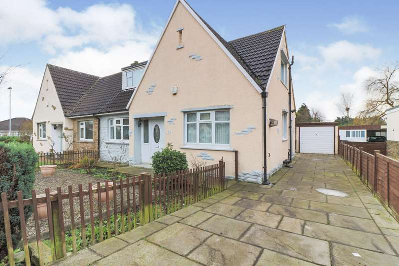 3 Bedrooms Semi Detached House for sale in Tyersal Court, Bradford, West Yorkshire, BD4