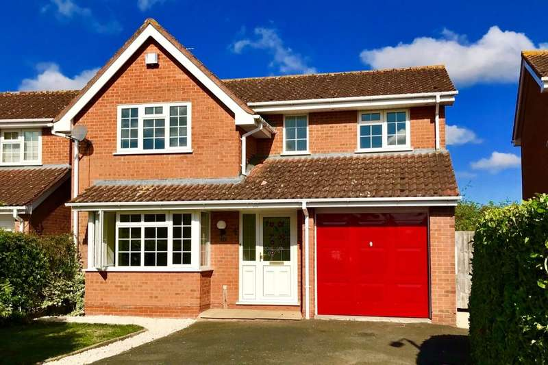 4 Bedrooms Detached House for rent in Friesland Close, Worcester, WR3