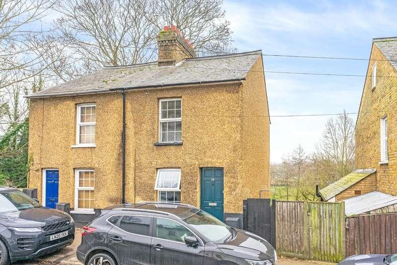2 Bedrooms Semi Detached House for sale in Port Hill, Hertford, Hertfordshire, SG14