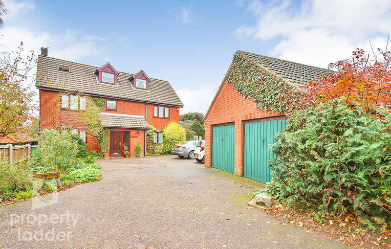 6 Bedrooms Detached House for sale in Norwich Road, Horstead, Norwich