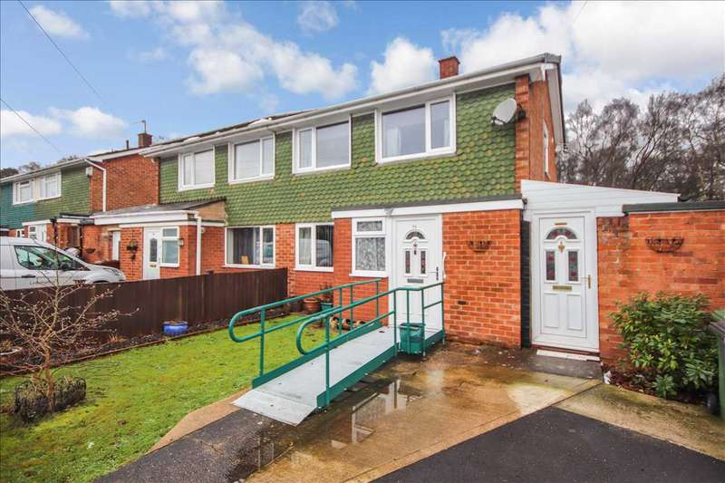 2 Bedrooms Semi Detached House for sale in Camwood Crescent, Lincoln