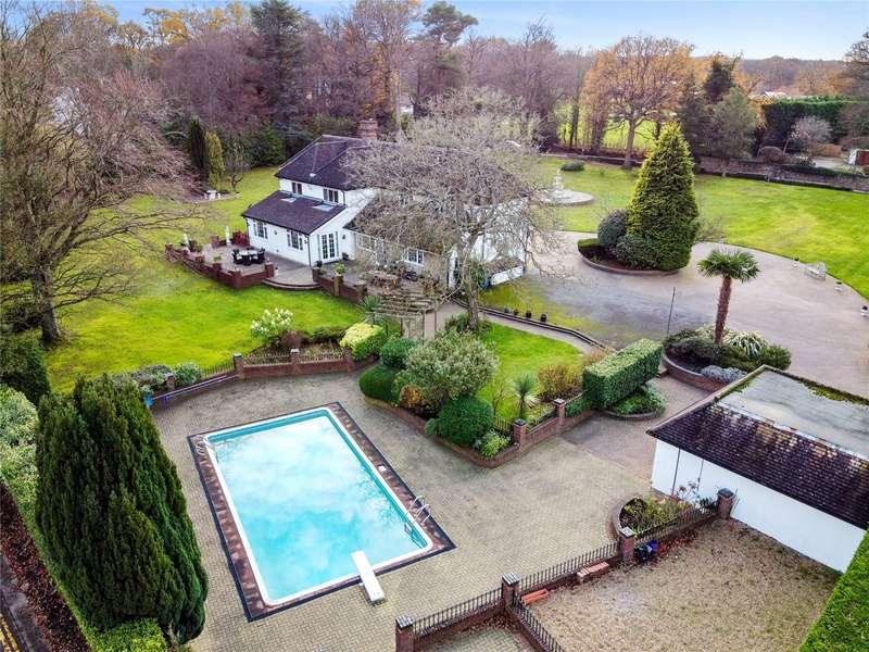 6 Bedrooms Detached House for sale in Rushmore Hill, Knockholt, Sevenoaks, Kent, TN14